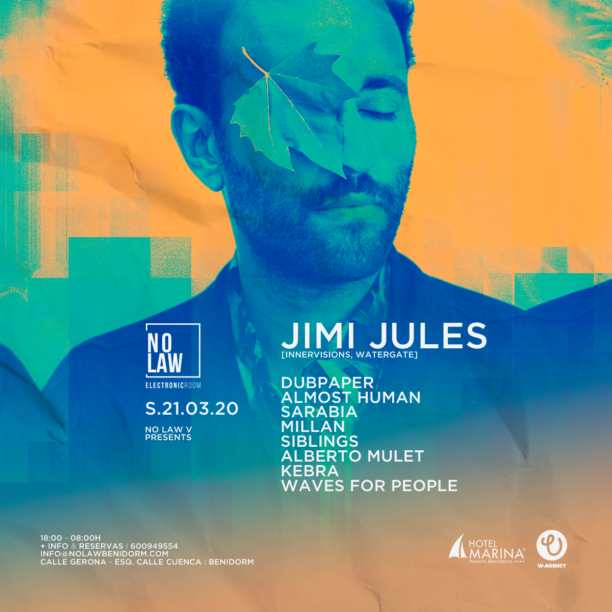 NO LAW V presents JIMI JULES